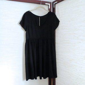 Urban Outfitters Black Babydoll Summer Mini Dress